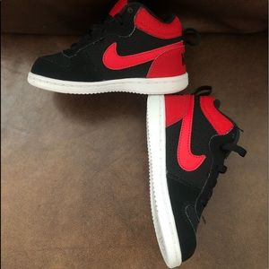 Nike Shoes - NIKE Court Borough MID- toddlers